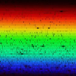 吸収線スペクトル