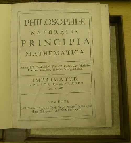 天文学辞典 » プリンキピア