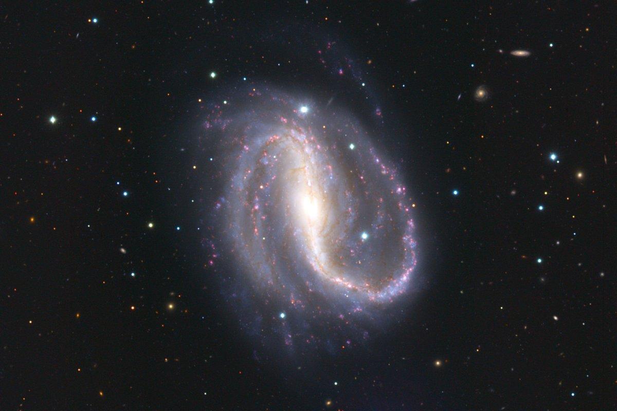 棒渦巻銀河 | 天文学辞典